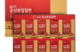불로건 홍삼봉밀절편(4년근)