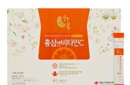 가벼운 하루 홍삼엔 비타민C